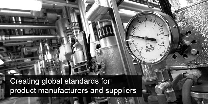 Creating global standards for product manufacturers and suppliers