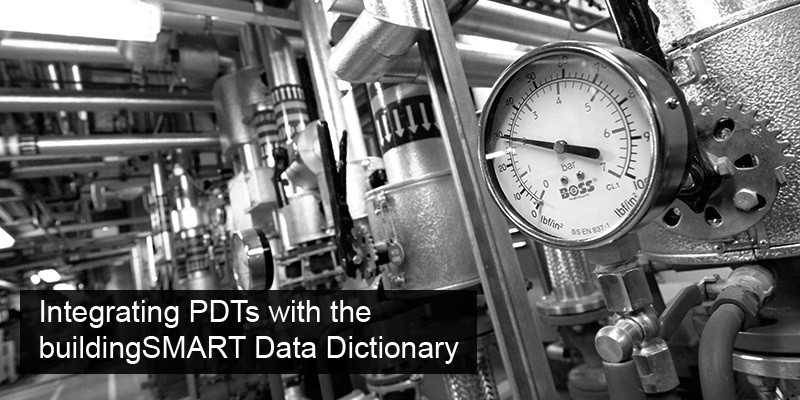 Integrating PDTs with the buildingSMART Data Dictionary